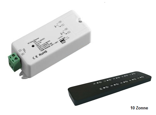 LED RF 10 Zonne Dimmers