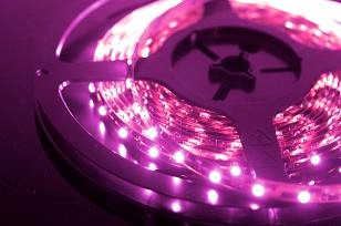 LED Stripset Roze