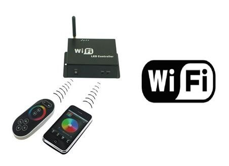LED RGB Wifi Controller