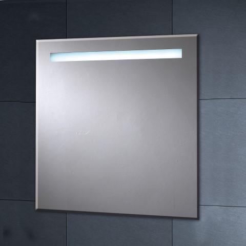 Ledw badkamer spiegel met led verlichting in for Spiegel 90x60