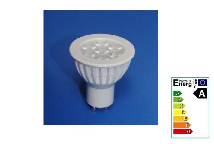 ledw led spot nichia 230 volt 5 5 watt vv 40 watt extra war. Black Bedroom Furniture Sets. Home Design Ideas