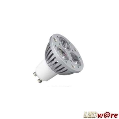 ledw led spot cree 230 volt 4 3 watt vv 40 watt wit gu10. Black Bedroom Furniture Sets. Home Design Ideas
