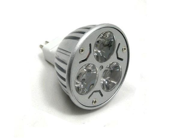 Ledw led spot epistar 12 volt 4 3 watt vv for Lampen 34 volt 3 watt