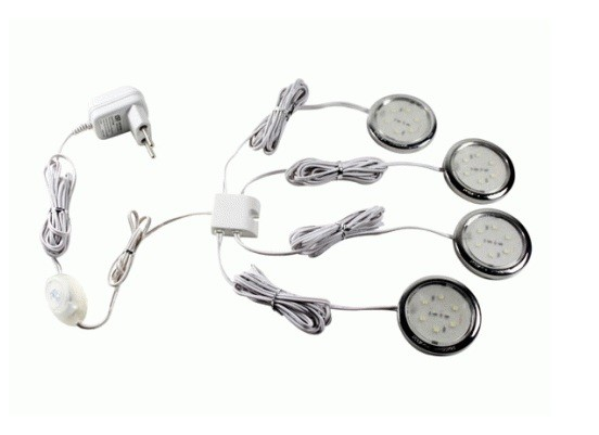 LEDw@re.nl - LEDware | LED Kastverlichting set | 4 Lampjes | 4 x 0,5 ...