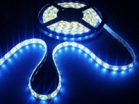 LED strip 7 mm breed | Waterdicht IP 65 | Blauw | 5 Meter