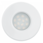 Eglo | LED inbouwspot | 1 LED Spot | 5 Watt | Warm Wit | Wit | 4