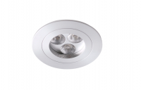 LEDware| LED inbouwspot | 3 LED | Rond | 9 W | 700 mA | Warm Wit