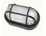 LED Gevellamp | 230 Volt | 2 Watt | Warm Wit | BH Zwart