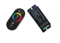 APPLE Control | Black | RGB LED Controller | 3 x 72 Watt | 12-24