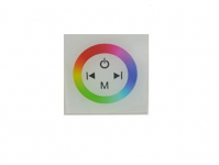 Wall RGB LED Controller | RGBw@re | 3 x 48 Watt | 12-24 Volt | W