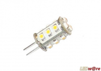 LED steeklampje | 12 Volt | 2 W | VV 15 W | Warm Wit | G4 | 130