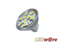LED steeklampje | 12 Volt | 12 LED | 2,9 W | VV 20 W | Daglicht