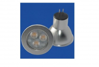 LED steeklampje | 12 Volt | 3 LED | 3 W | VV 20 W | Extra Warm W
