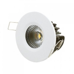 LEDware | LED inbouwspot | 1 LED | Rond | 8 W | Warm Wit | LWIES