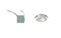LEDware | LED inbouwspot ND | 1 LED spots | 180 Lm | Doe Het Zel