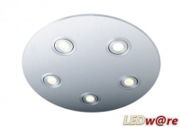 LED inbouwplaat | 5 LEDs | Rond | Lumoluce R260