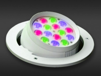 LED Powerbar | 24 Volt | 18 Watt | 15 gekleurde LEDs | Variabel