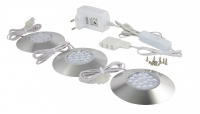 LEDware | LED Downlight | 3 LED spots | White | 320 Lm | Kit